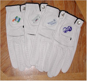 Logo Golf Gloves examples